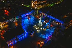 Kaunas Christmas Tree | Kaunas aerial