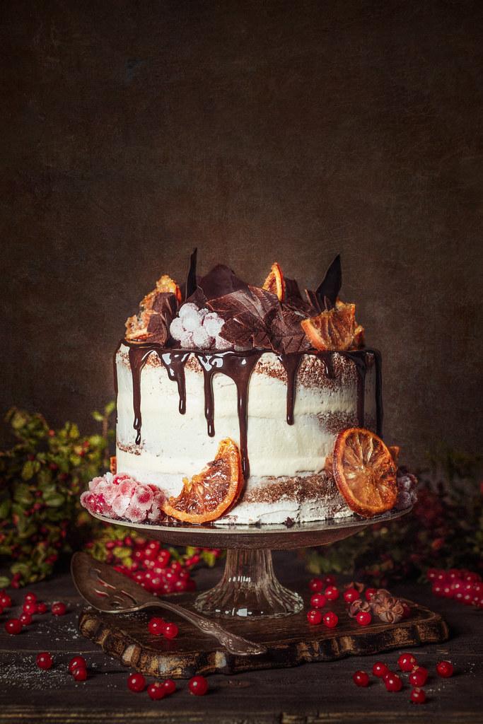 Holiday Cake - Shot for TABLE MAGAZINE