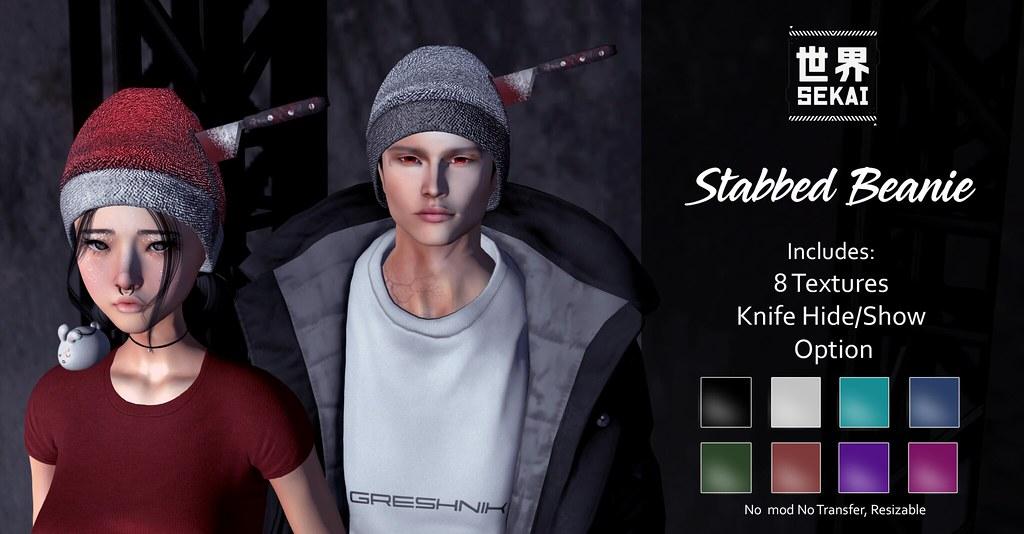 SEKAI - Stabbed Beanie