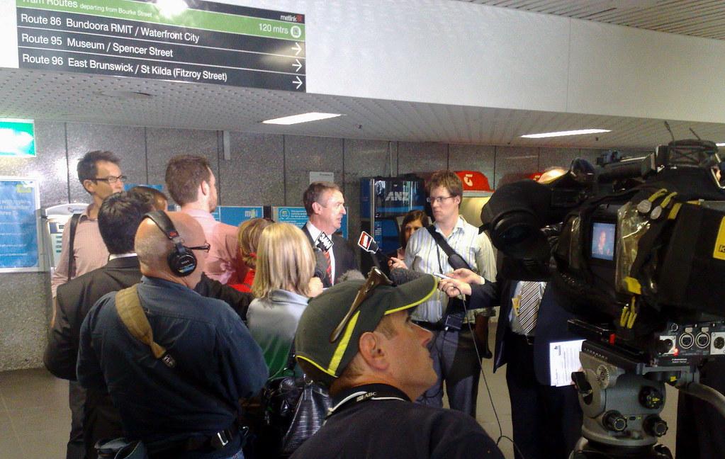 Then Opposition transport spokesman Terry Mulder, November 2010 by Daniel Bowen