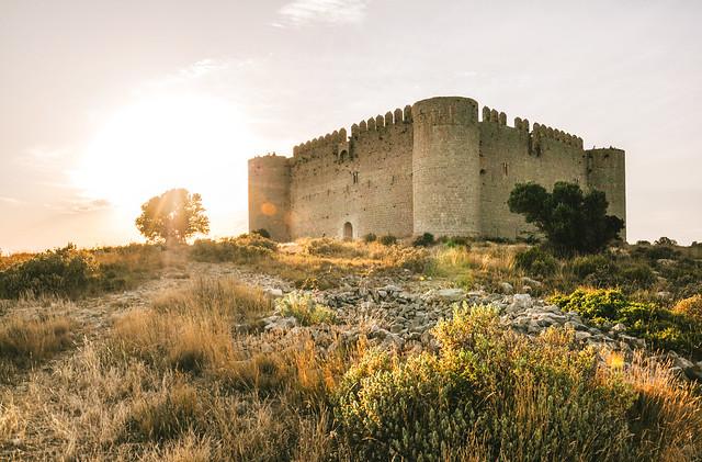 Sunset at Castell del Montgrí