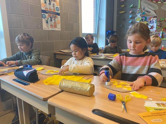 1ste leerjaar - Zedenleer: Een zonnetje zijn voor iemand anders