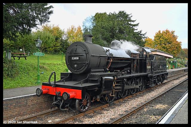 No 53308 18th Oct 2020 Mid Hants Railway Steam Gala Ropley