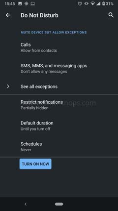Focus Mode Android 10 - Managing distractions 154523