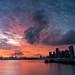 Sunset at Marina Coastal Drive 29 Nov 2020