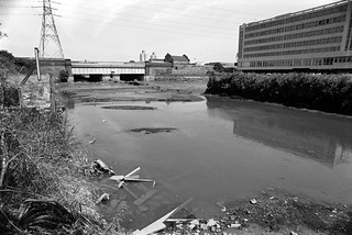 Channelsea River, Northern Outfall Sewer, Greenway, Stratford, Newham, 1983 36p-53_2400