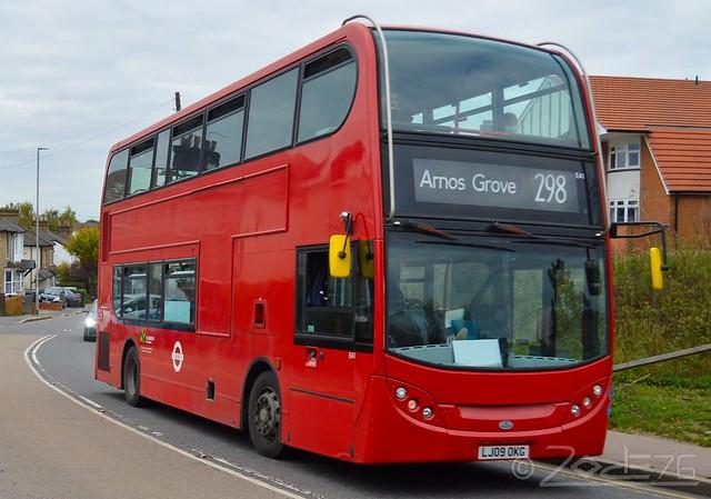 Sullivanbuses - E41 (LJ09 OKG) -- 298