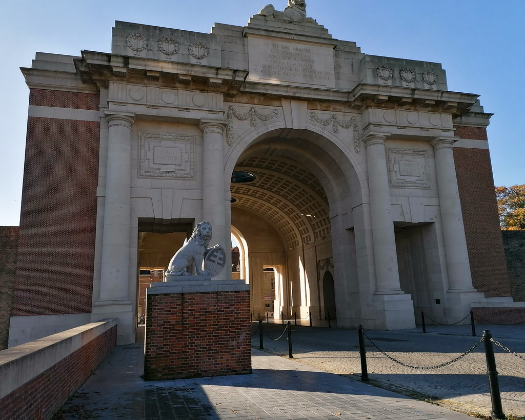 La Puerta de Menin en Ypres