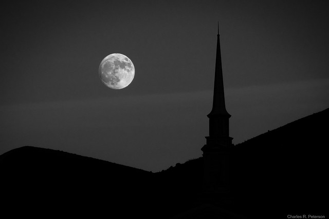 Moonrise - Idaho