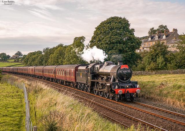 Jubilee 45690 'Leander' - Long Preston