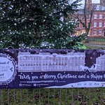 Merry Christmas from Friends of Winckley Square, Preston