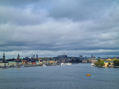 View of the Old Town and Skeppsholmen, Stockholm, Sweden