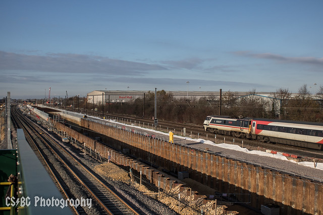 Migrating South at Werrington Junction