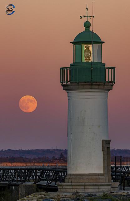 Paimboeuf moonrise