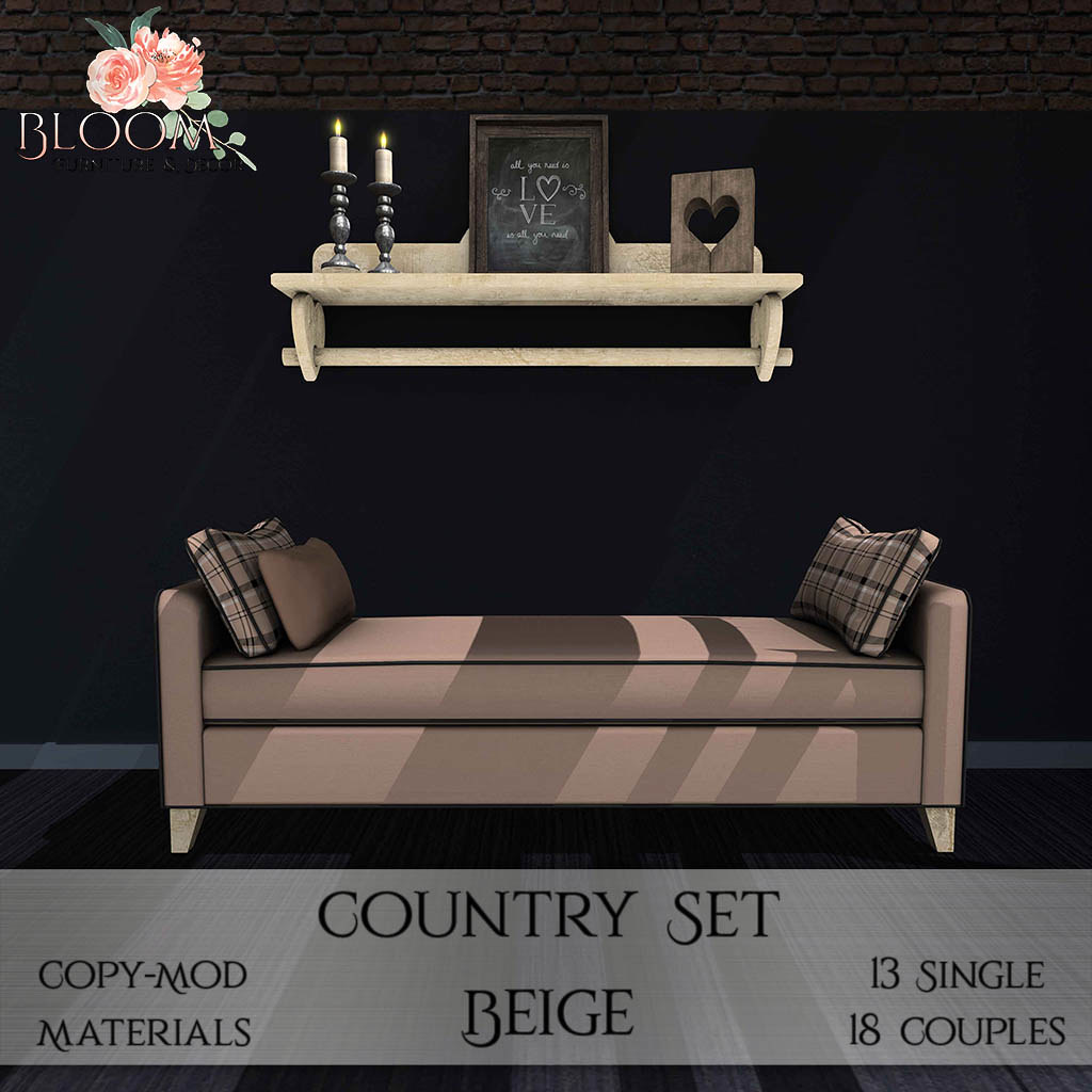 Bloom! – Country Set BeigeAD