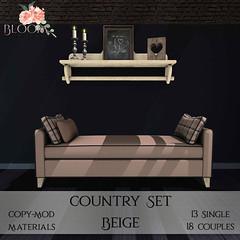 Bloom! - Country Set BeigeAD