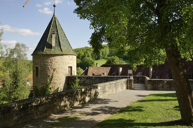 Germany, Kloster Bebenhausen, Wehrturm im Vorgarten  (in explore),  76991/13205