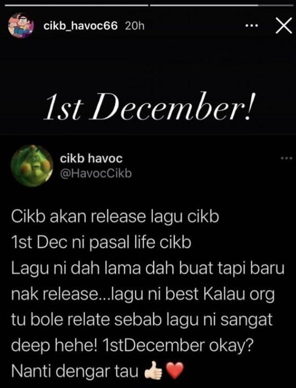 Lepas Berlakon, CIK B Mahu Jadi Penyanyi, Bakal Muncul Dengan Single Sendiri Pada 1 Disember