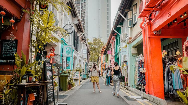 explore and rediscover Singapore
