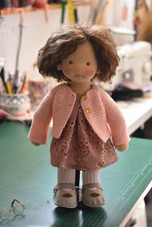 """STELLA 16"""" waldorf doll"""