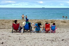 Beautiful ocean view. American Lifestyle 2020 - Miami street photos  L1001472