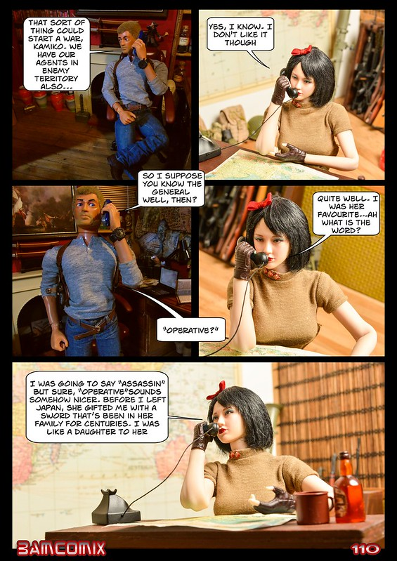 BAMComix Presents - Chapter Seven - A busy night. 50661067108_5dfcb4b253_c