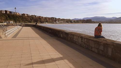 En el Puerto Viejo de Algorta