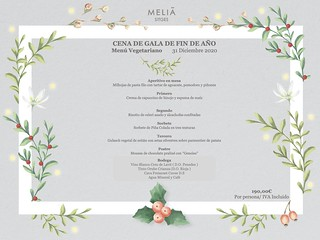 Fin de Año / Vegetariano - Meliá