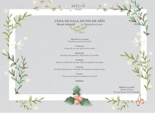 Fin de Año / niños - Meliá