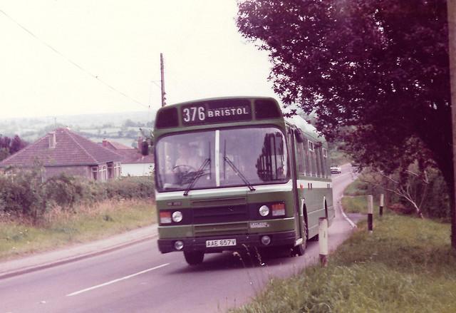 AAE657V Bristol Omnibus Co 3513