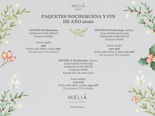 Pack Navidad / Pack Fin Año - Meliá