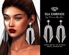 Ella Earrings @ Mainstore & MP