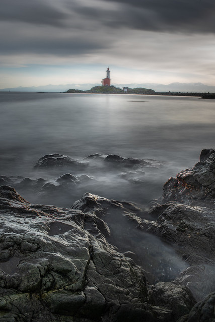 Fort Rodd and lighthouse