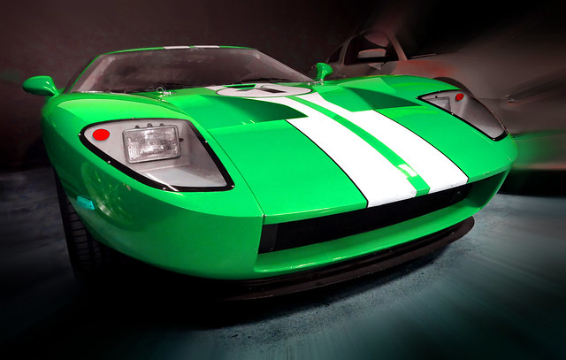 Ford GT. .In Green