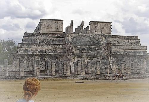 templo de los guerreros