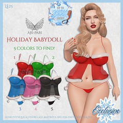 [Ari-Pari] Holiday Babydoll