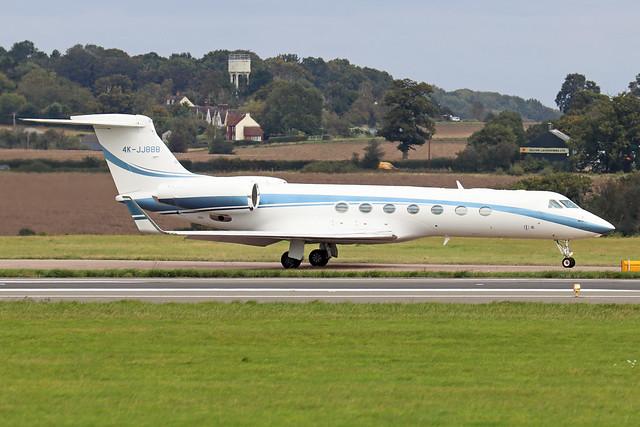 4K-JJ888  -  Gulfstream G550 c/n 5302  -  LTN/EGGW 25/9/20