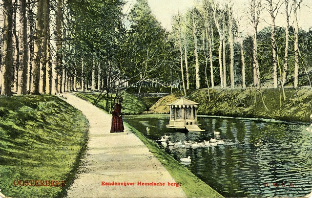 Oosterbeek Hemelsche berg eendenvijver uitgave onbek gelopen 1907