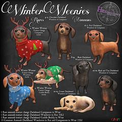 HEXtraordinary - Winter Weenies - The Arcade