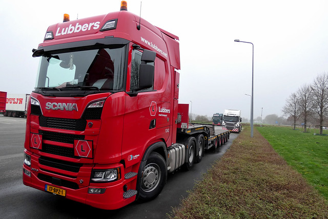 Scania NG580S Lubbers Schoonebeek