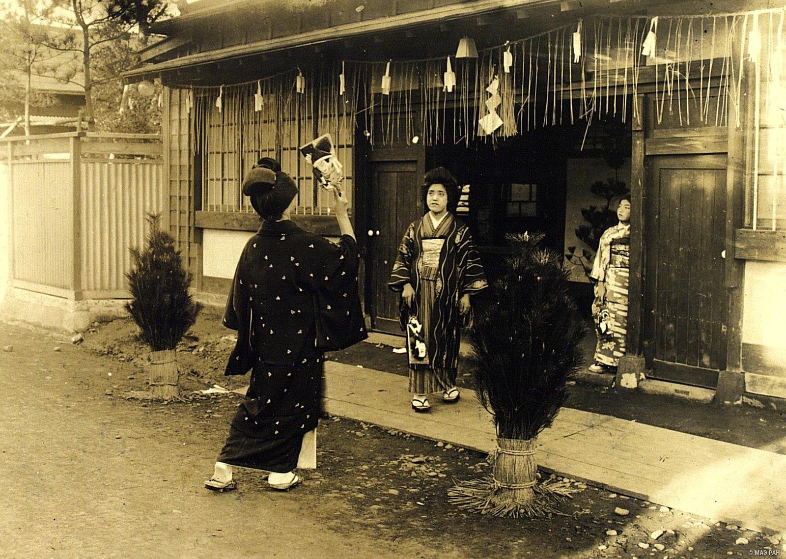 19. Новогодняя игра в волан. Префектура Токио