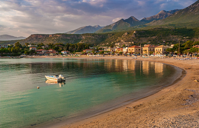 Stoupa before Sunset
