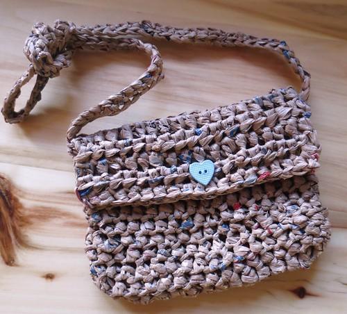 Plarn Mini Shoulder Bag Purse