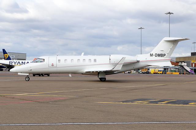 M-DMBP  -  Bombardier Learjet 40 XR  -  Ven Air  -  LTN/EGGW 25/9/20