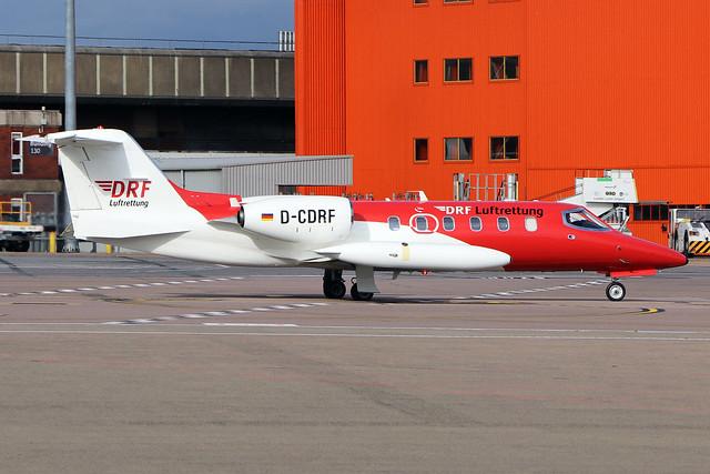 D-CDRF  -  Gates Learjet 35A  -  Deutsche Rettungsflugwacht  -  LTN/EGGW 25/9/20