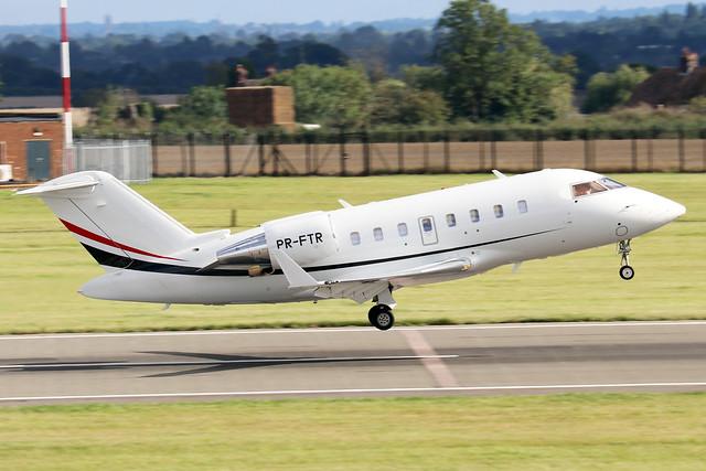 PR-FTR  -  Bombardier Challenger 605 (CL600-2B16) c/n 5915  -  LTN/EGGW 24/8/20