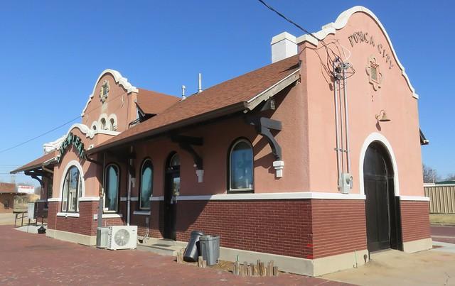 Old Rock Island Railroad Depot (Ponca City, Oklahoma)