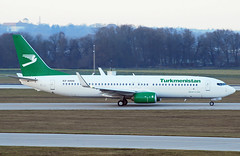 Turkmenistan Boeing 737-800 EZ-A020