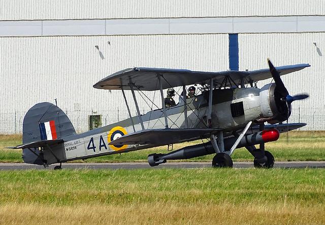 W5856 (G-BMGC) Fairey Swordfish