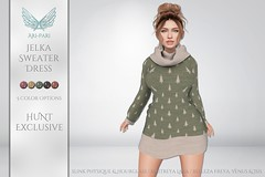 [Ari-Pari] Jelka Sweater Dress